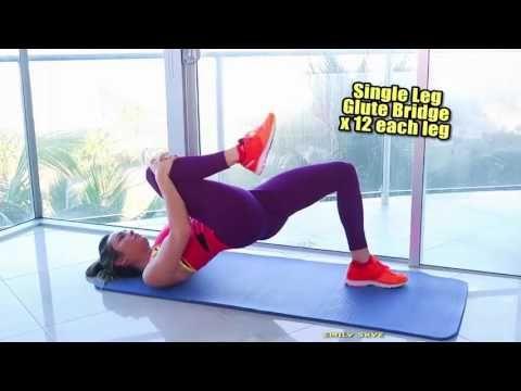 4x tréning pre krásny zadok a nohy z pohodlia domova | Cvičenie a športy | Články | FIT štýl