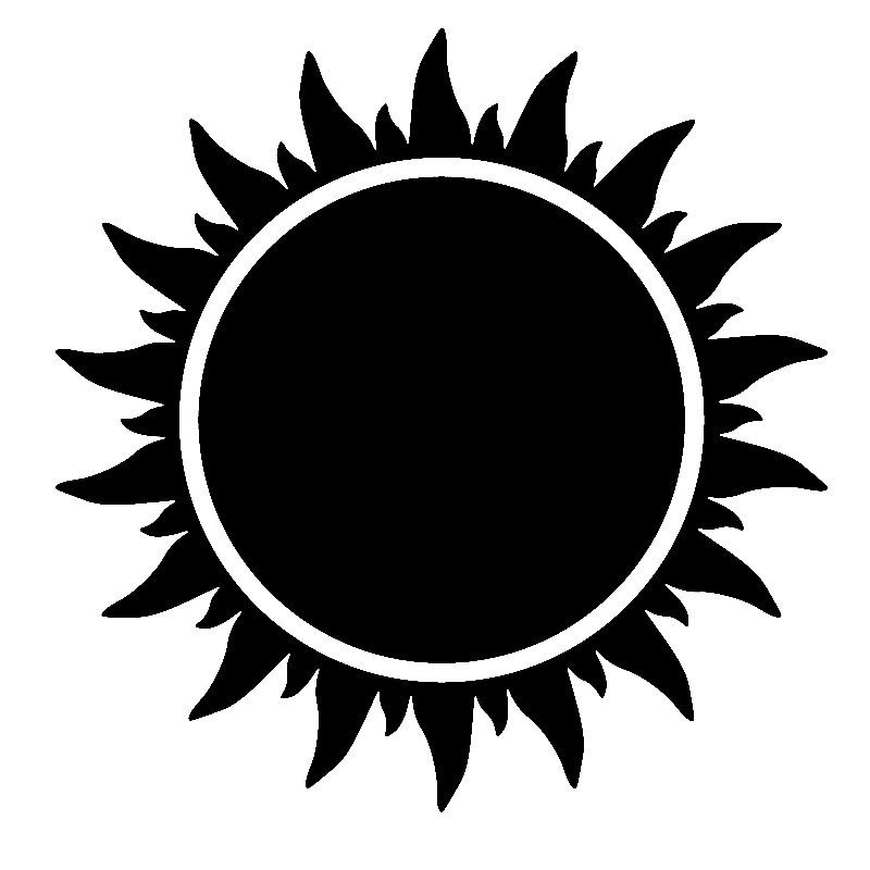 Black And White Sun Coming Race Easyread Edition Black Sun Clip Art Png Coming Race Easyread Edition Black Black Sun Clip Art Black Sun Tattoo Sun Tattoo