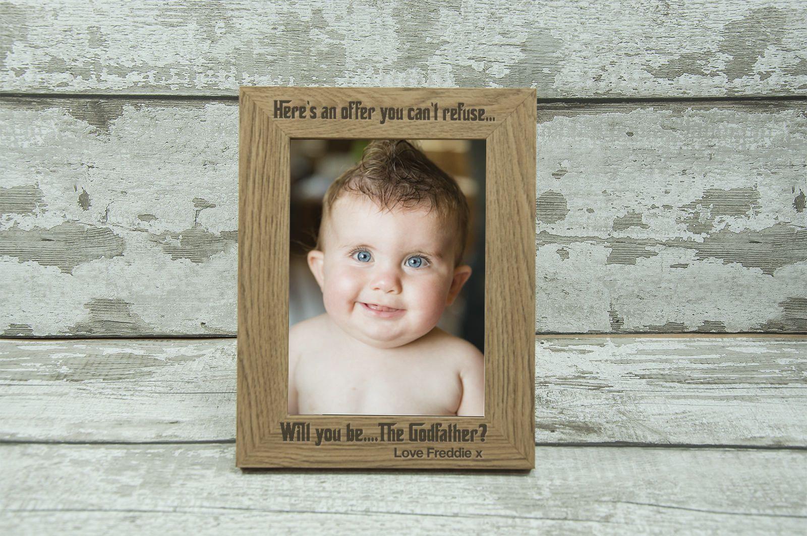 Personalised Godfather Gift Photo Frame 7\