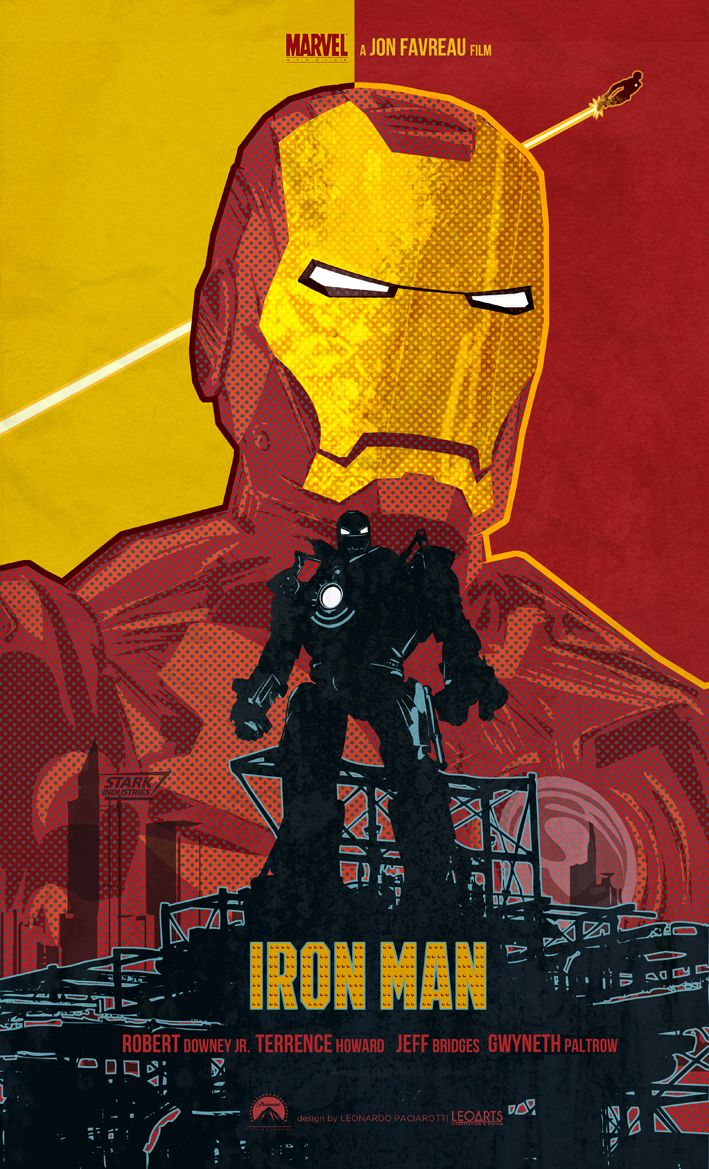 Poster design deviantart - Iron Man 2008 Film Poster Art By Le0arts Deviantart Com On