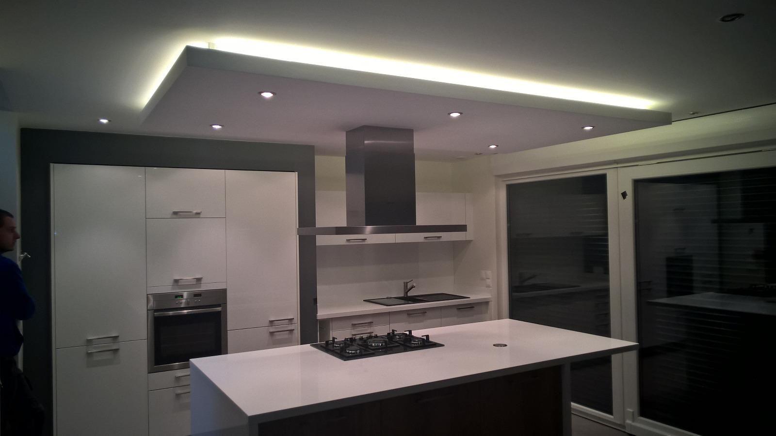 Faux Plafond Cuisine Spot Led Épinglé sur et la lumière fut !