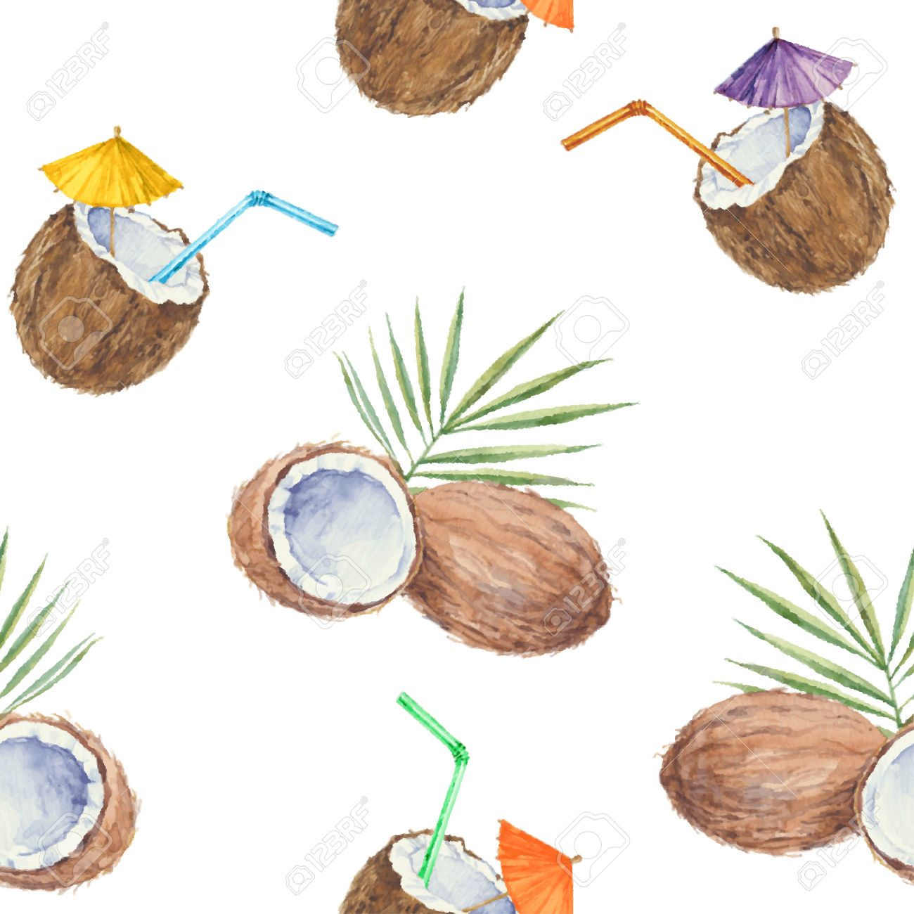 Coconut Pattern Google Search お気に入り