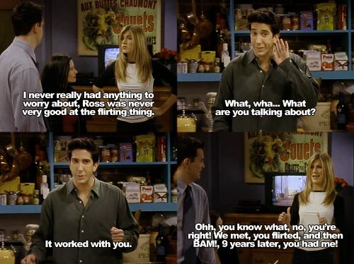One Of My Fav Friends Line Ever Friends The One Where Ross Can