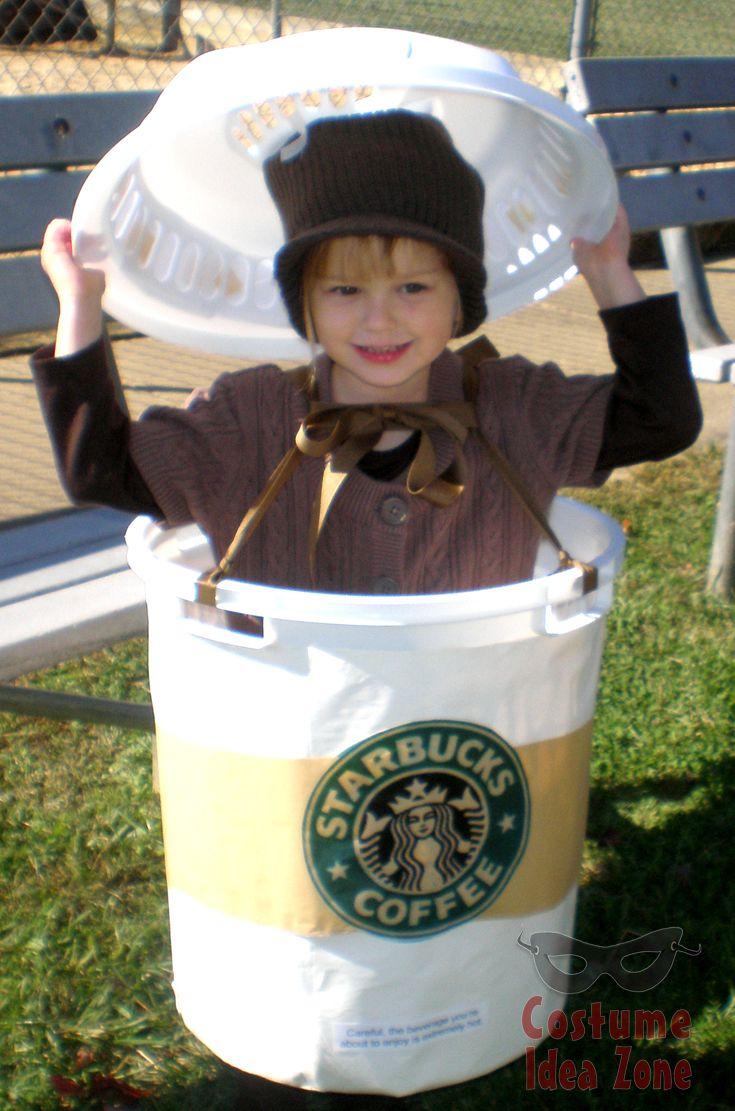 Starbucks Coffee Cup Halloween costume idea sometimes