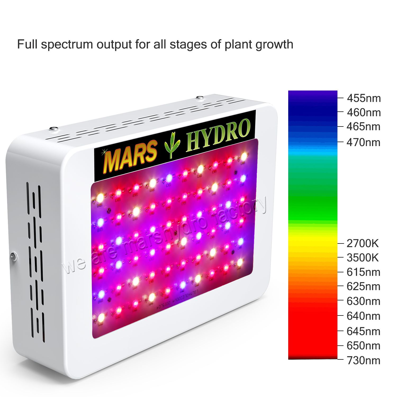 Mars Hydro Ts 1000w Led Grow Light Set 2 X2 Tent Full Spectrum Ir For Veg Bloom Led Grow Lights Grow Lights Growing Plants Indoors