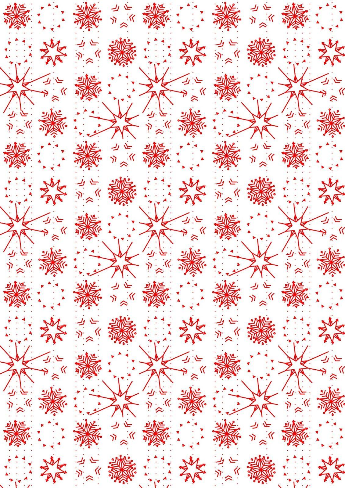 Free digital snowflake scrapbooking paper - ausdruckbares ...