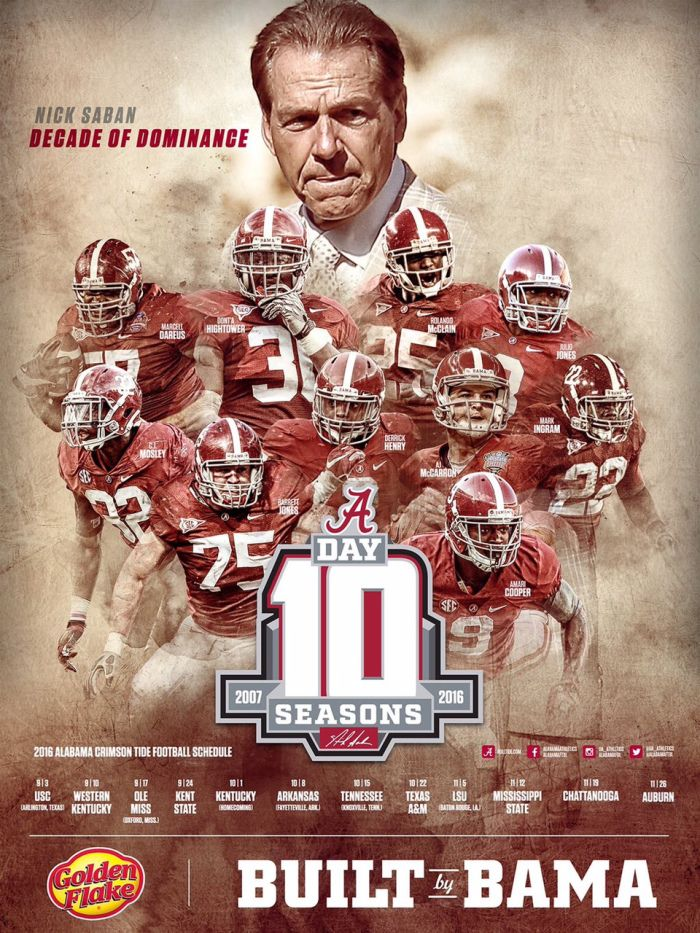 Poster Swag See All The Latest And Greatest College Athletics Posters And Graphic Design Wor Alabama Football Roll Tide Alabama Crimson Tide Football Alabama