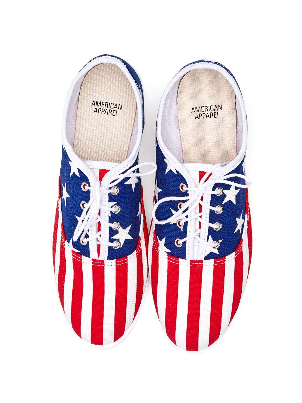 Unisex Tennis Shoe American Flag American Apparel American Flag Shoes American Apparel Shoes Tennis Shoes