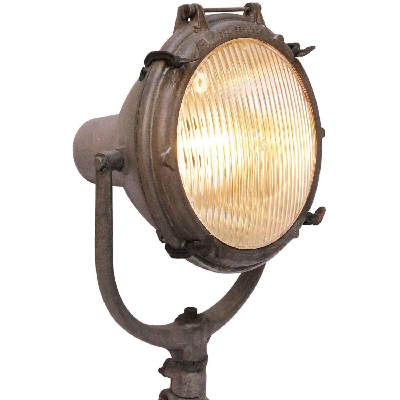 Pair of crouse hinds spotlights spotlight floor lamp and walls pair of crouse hinds spotlights 1stdibs industrial floor lampsindustrial arubaitofo Choice Image