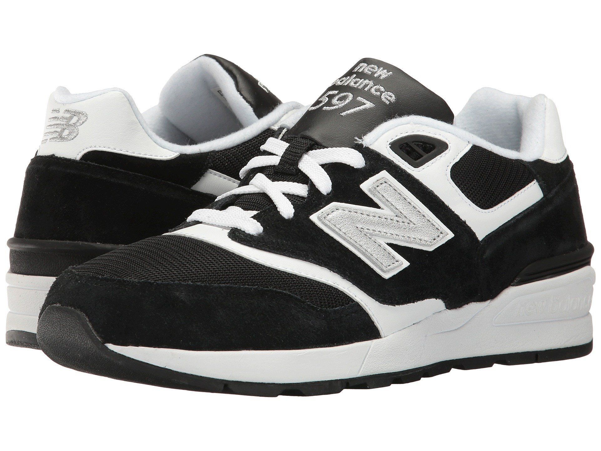 0fbe4be1b45be NEW BALANCE 597 Men | Black / White (ML597RSD) | Fresh kicks | Shoes ...