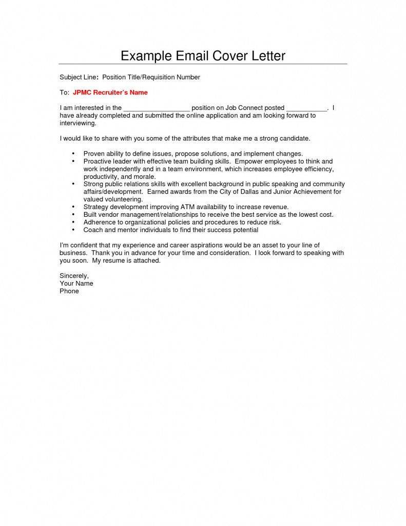 Resume Cover Letter For Email 2021 In 2021 Cover Letter For Resume Resume Template Free Resume