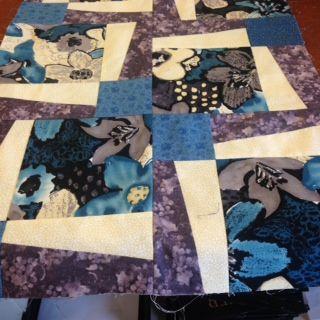This is Nancy Zieman's Big print block. I had some large print ... : quilt patterns for big prints - Adamdwight.com