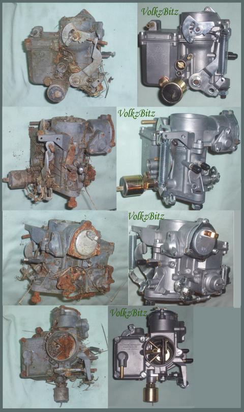 Carb kit réparation solex vw beetle buggy et camper T1//T2