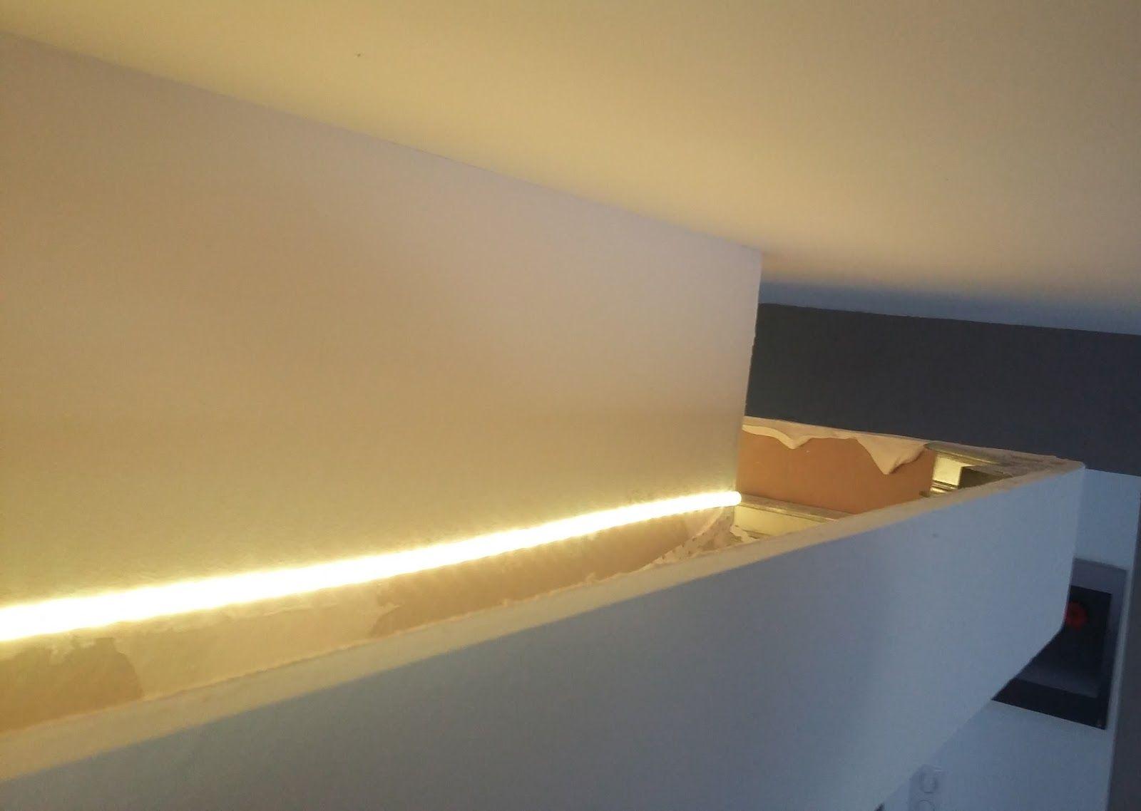 Bandeau Led Encastrable Plafond eclairage led faux plafond | faux plafond, eclairage led