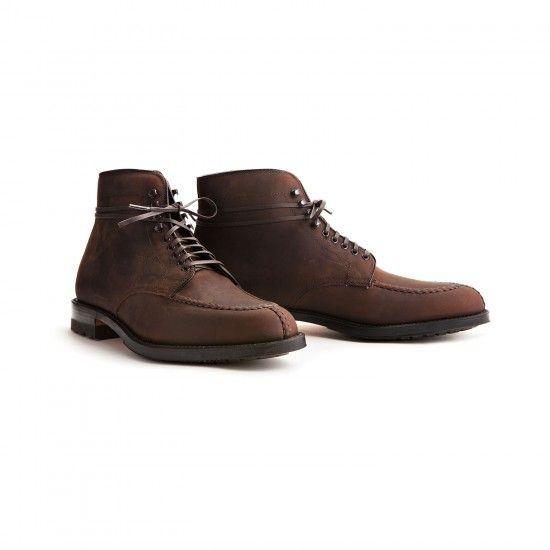 dc0beb9296e Alden x Leffot | Tanker NST Boot (Tobacco Chamois) | Footwear