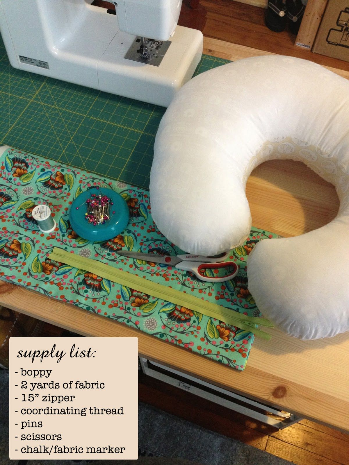 Quick and Easy DIY Boppy Cover | Sewing | Pinterest | Babies, Sewing ...
