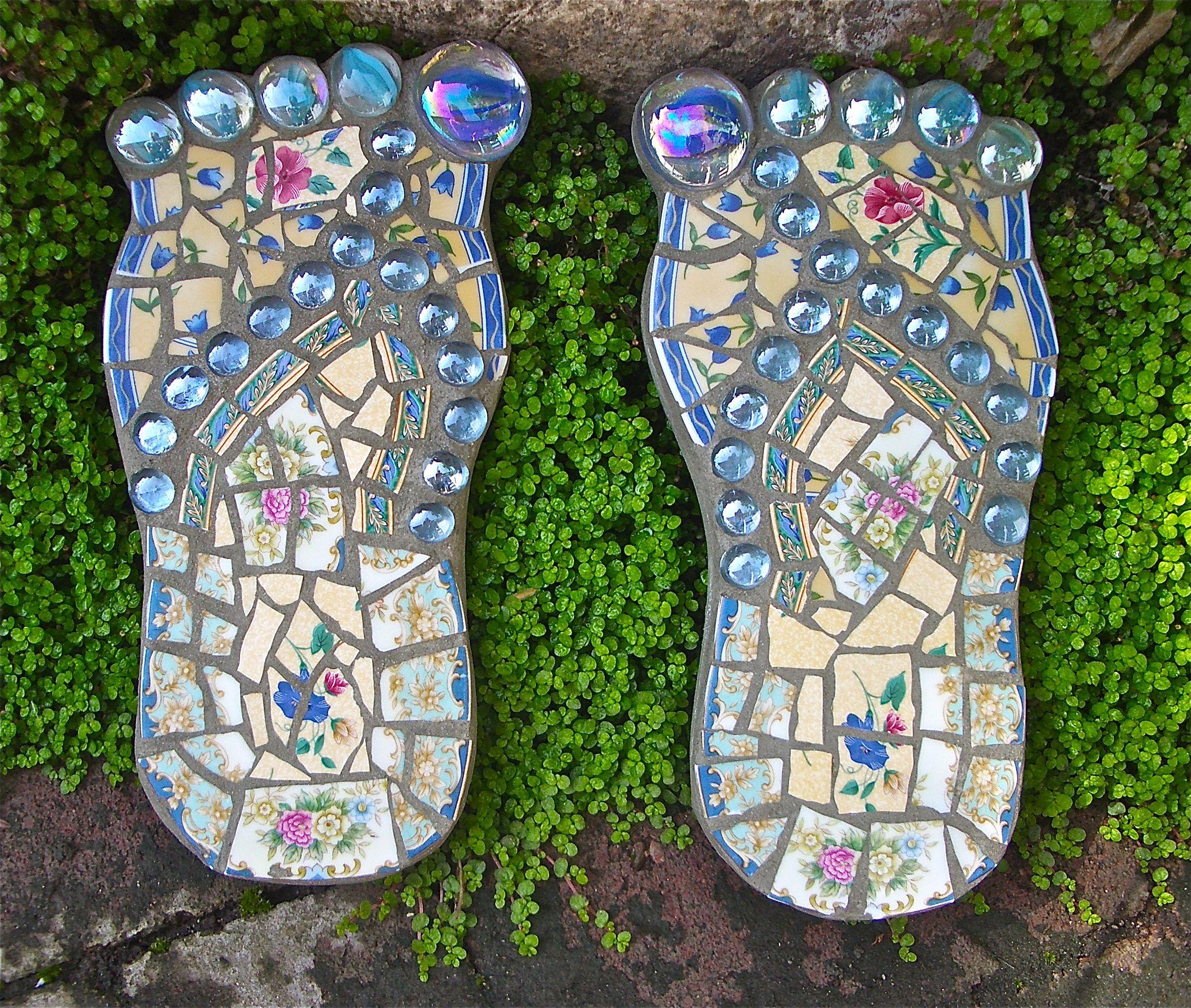 Flip Flop Garden Stones For The Home Garden Stones