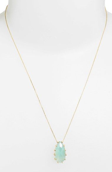 KALAN by Suzanne Kalan Stone Pendant Necklace available at #Nordstrom