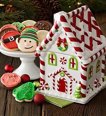 Cheryl S Christmas Cookies Gifts In Tin Can Www Teelieturner Com