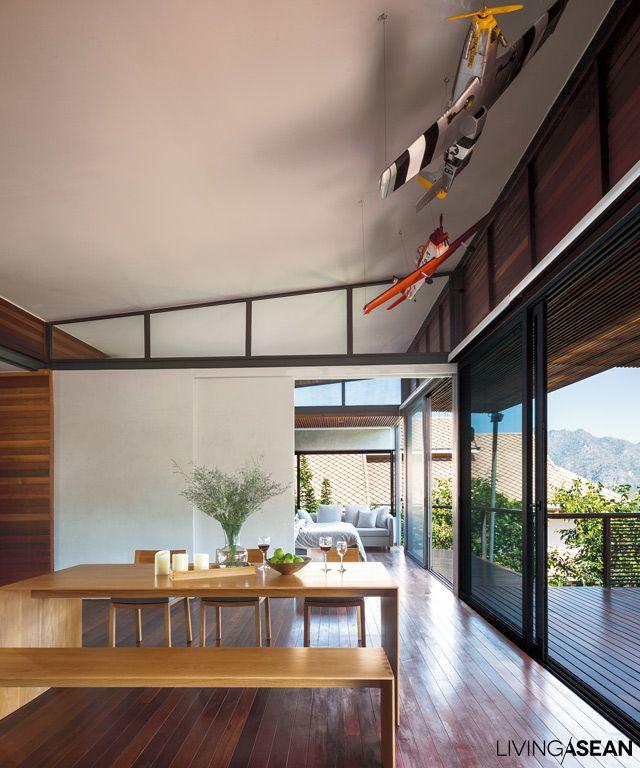 Contemporary Tropical House Tanga House: Modern Tropical House /// Living ASEAN ///