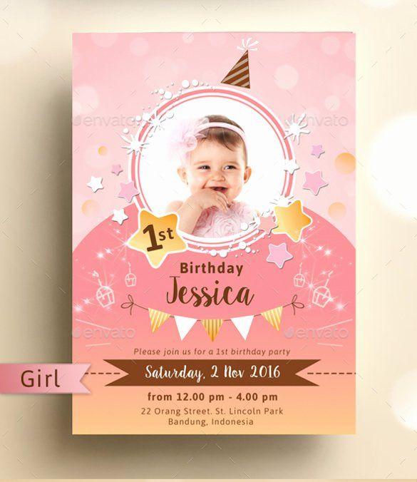 35 Birthday Invitation Template Photoshop Birthday Invitations