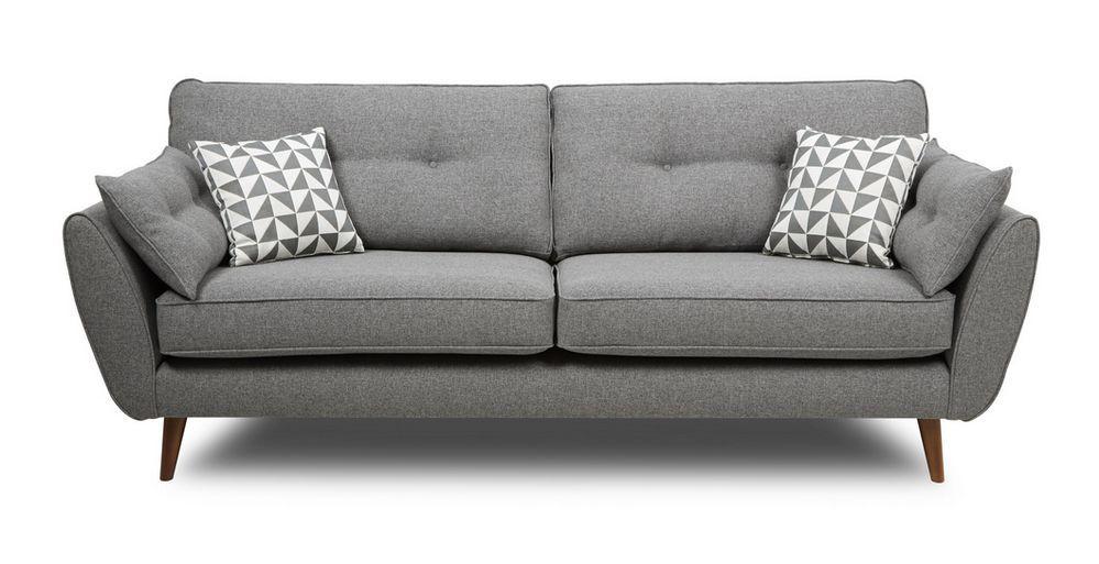 zinc 4 seater sofa dfs ireland kitchen living area. Black Bedroom Furniture Sets. Home Design Ideas
