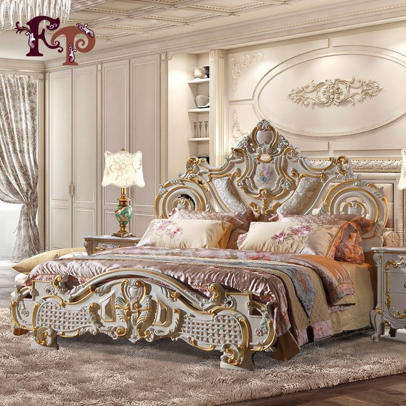 2017 Hot Selling King Size Bed For Hotel And Restaurant Solid