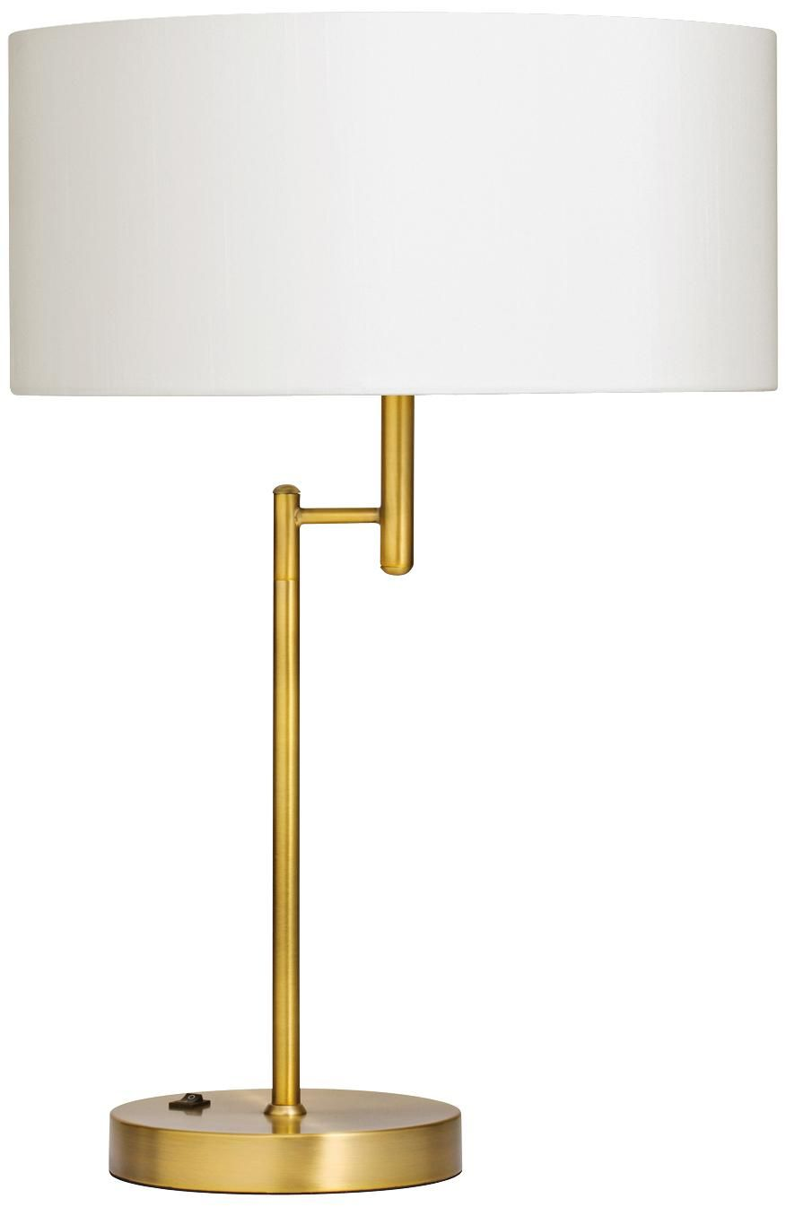 Kichler ryder brushed brass swing arm table lamp 189 lamps kichler ryder brushed brass swing arm table lamp 189 lamps plus geotapseo Gallery