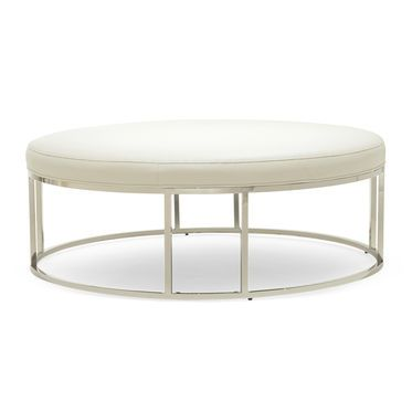 Terrific Mg Bw Carmen Round Ottoman From The Carmen Collection Of Caraccident5 Cool Chair Designs And Ideas Caraccident5Info