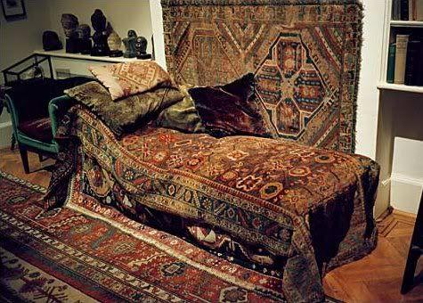 Freud S Divan Psicoanalisis Decoracion Hogar Decoracion De Unas