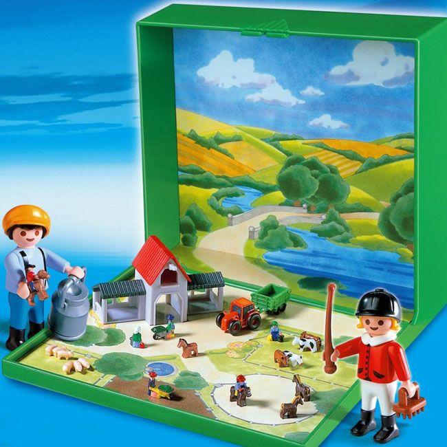 Ferme playmobil micro toys lego playmobil pinterest for Micro playmobil