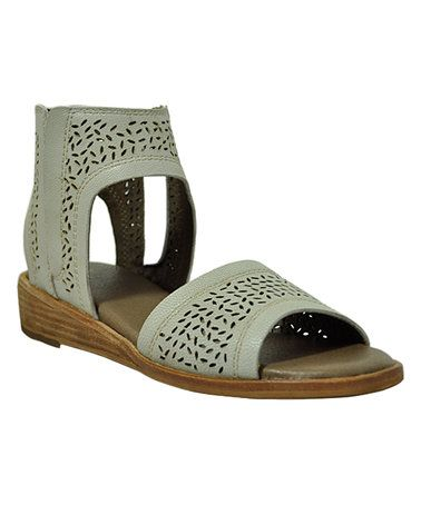 Another great find on #zulily! Off-White Precilla Leather Sandal #zulilyfinds