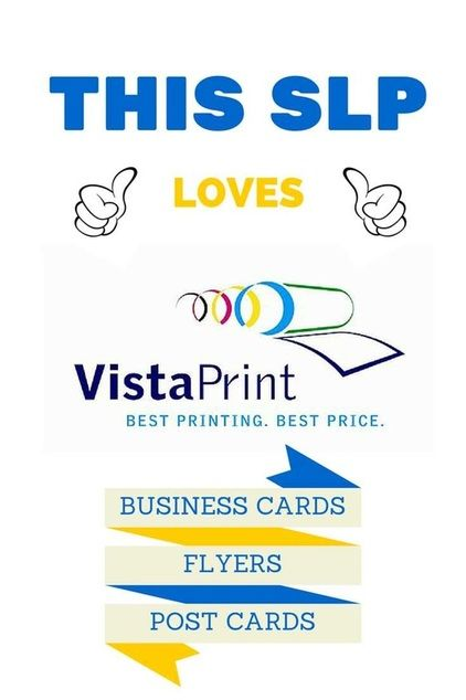 Vistaprint Pinterest Private Practice Speech Therapy And Therapy