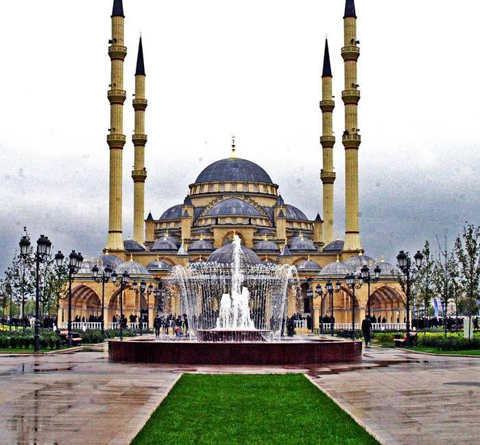 Akhmad Kadyrov Mosque in Grozny (IMAGE) | Federação russa, Russa ...