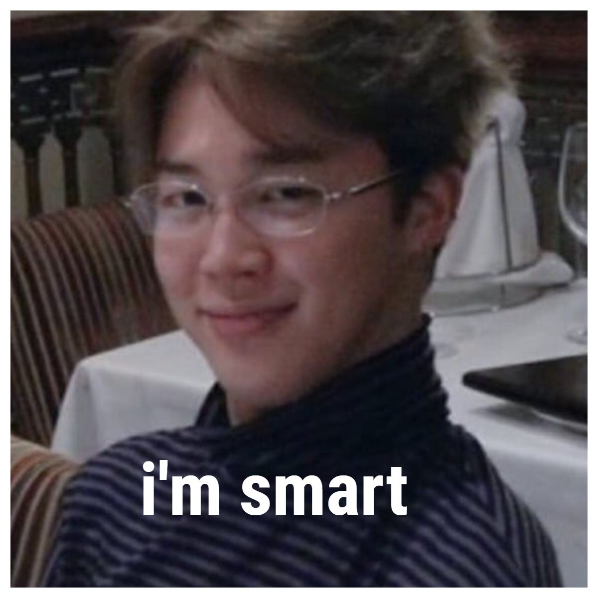 Best Funny Aesthetic i'm smart meme #jimin #bts #meme #funny jimin i'm smart meme | don't reupload! enjoy your meming