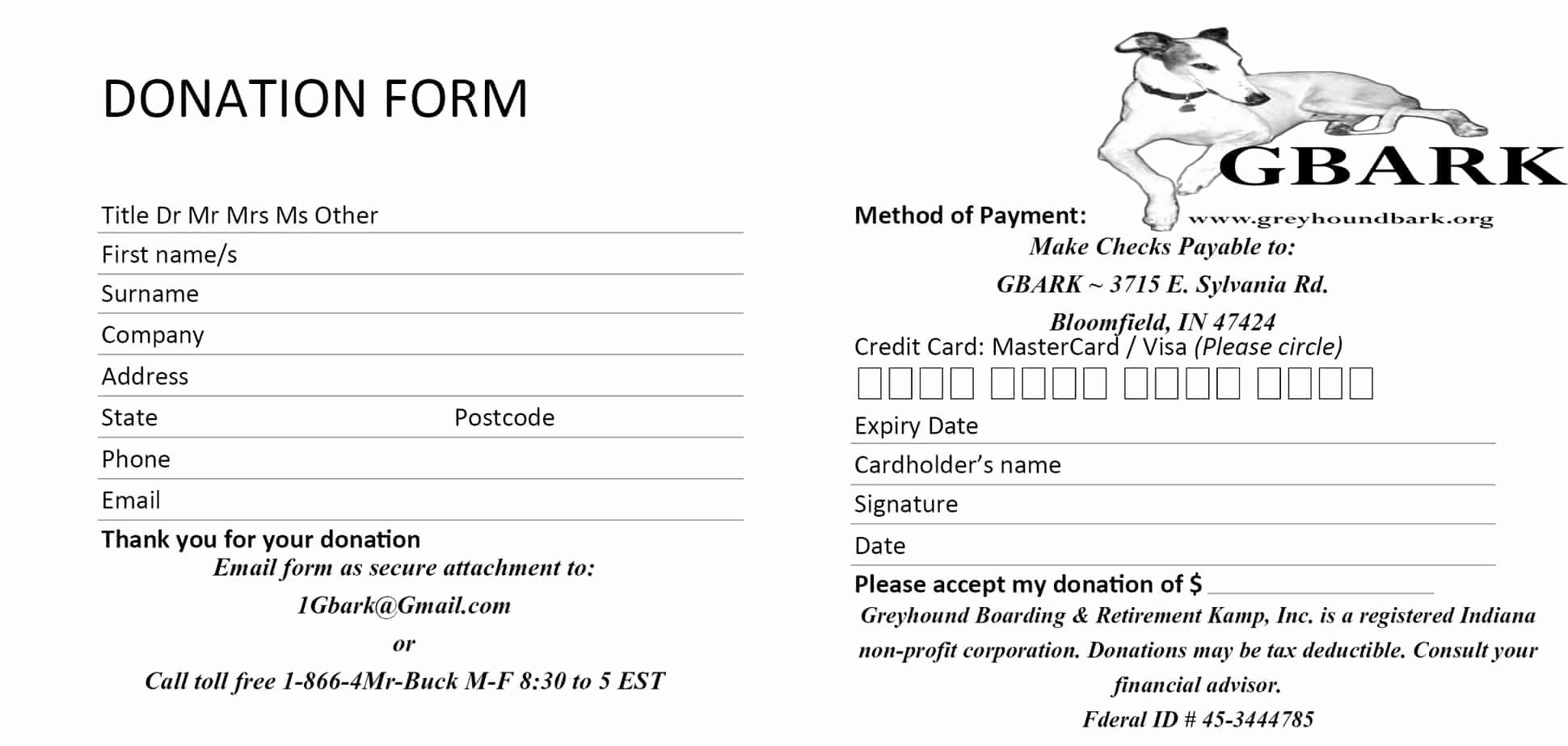 Donation Form Template Word New 6 Donation Form Templates Excel Pdf Formats Donation Request Form Donation Form Donation Request
