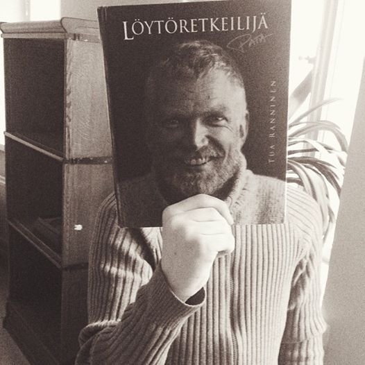Karski mies pohjoisesta #bookface #bookfacefriday #kallionkirjasto Varokaa fisut, verkot on heitetty!  http://instagram.com/kallionkirjasto