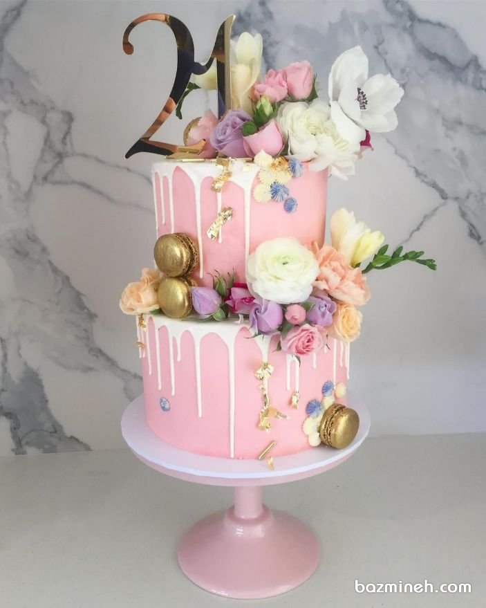 Bazmineh Com 21st Cake 18th Birthday Cake 21st Birthday Cakes