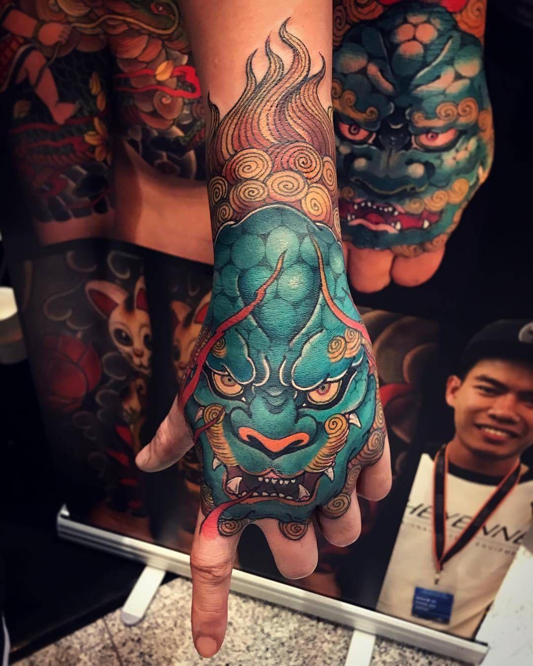 Pin By Maverick Acevedo Velazquez On Tattoo Japan Japanese Hand Tattoos Hand Tattoos Dragon Hand Tattoo