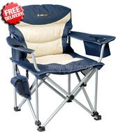 Oztrail Royale Camping Arm Camp Chair Folding Picnic