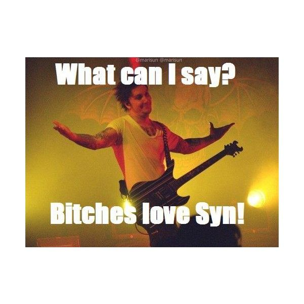 FUNNY SYNYSTER GATES THINGS ❤ liked on Polyvore