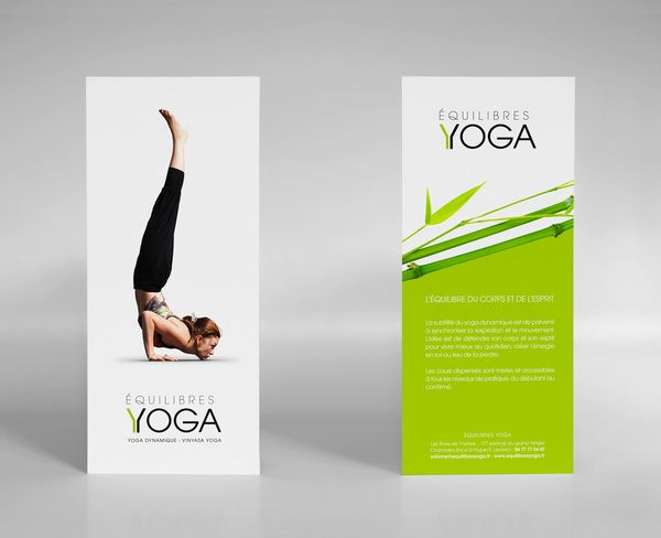 yoga flyer ideas - Pesquisa Google Yoga studio marketing - studio brochure