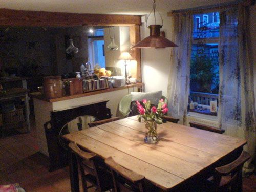 We Toured A 200 Year Old English Cottage To Share Every Charming Detail Rustic TableFarmhouse TableWooden TablesCottage Dining