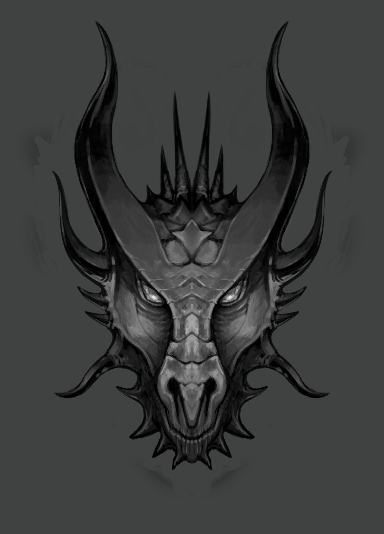 Pin By Alyssa On Dragons Dragon Face Dragon Head Tattoo Dragon Head