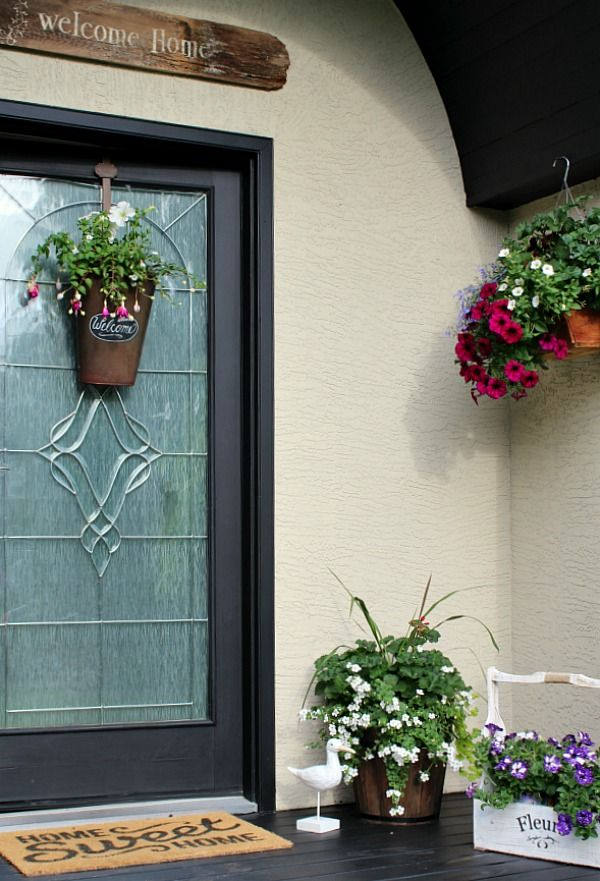 Summer Front Porch Decorating Ideas Clean And Scentsible