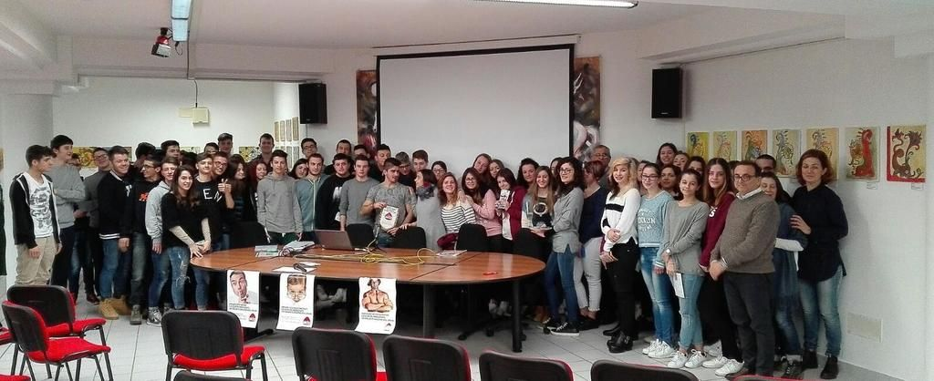 Ti voglio donare -tvd l' Aido incontra gli studenti del Fazzini-Mercantini  TM notizie - https://t.co/2gYgyJ4Tqh https://t.co/OlDtbxjfOp