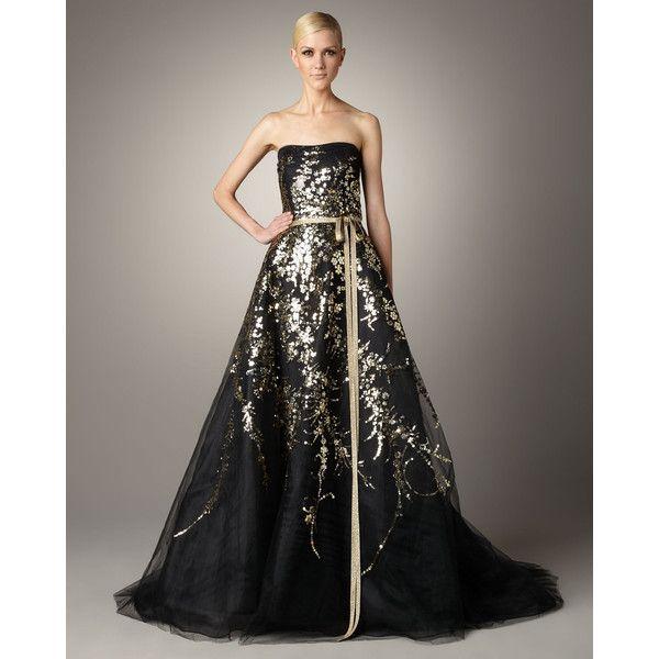 Carolina Herrera Beaded Tulle Gown neimanmarcus.com | ☆ Killer ...