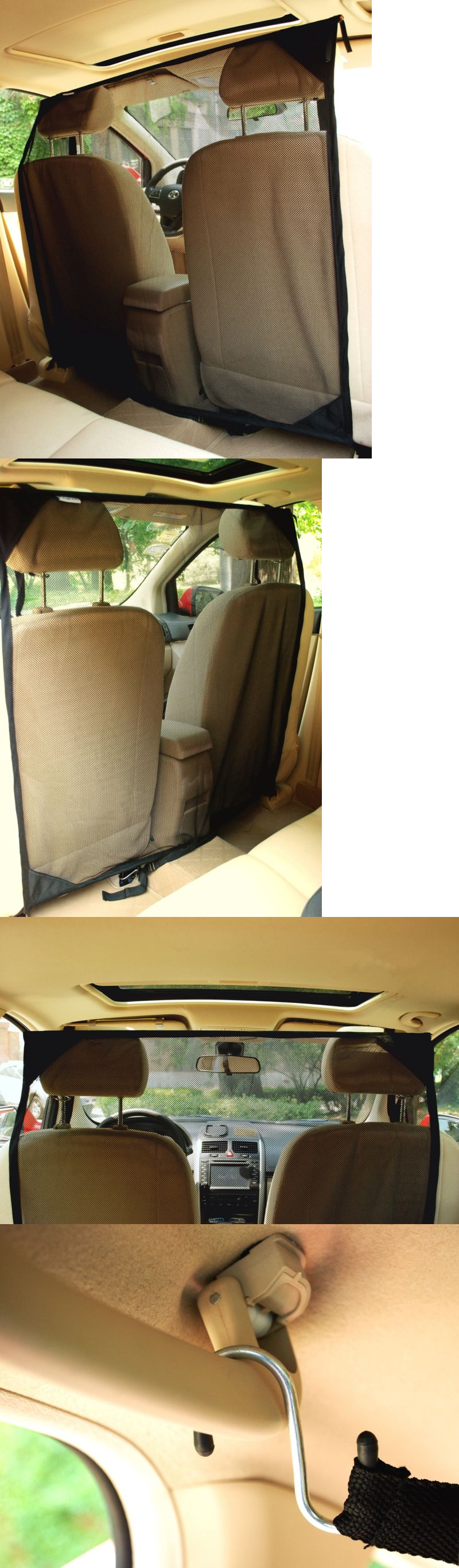 Car seats and barriers new car pet barrier large divider net