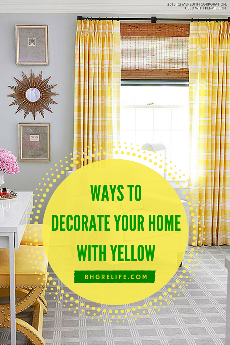 Bring The Bright, Warm Color Of Flowers, Lemons And Sunshine Into Your Home  And Infuse Rooms With The Fresh Appeal Of Yellow. From Your Homeu0027s Interior  ...