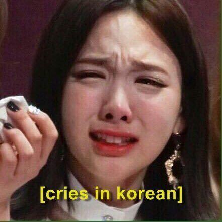 Kpop Trendy And Kpopmemes Image Crying Meme Kpop Memes Memes Funny Faces